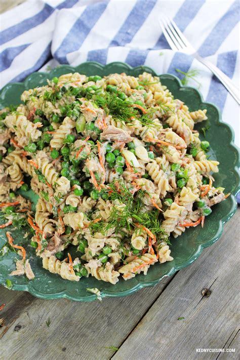 salade de p 226 tes au thon kedny cuisine