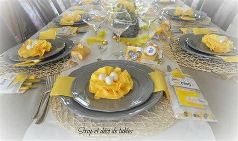 decoration de table pour p 194 ques 2015 scrap et d 233 co de tables