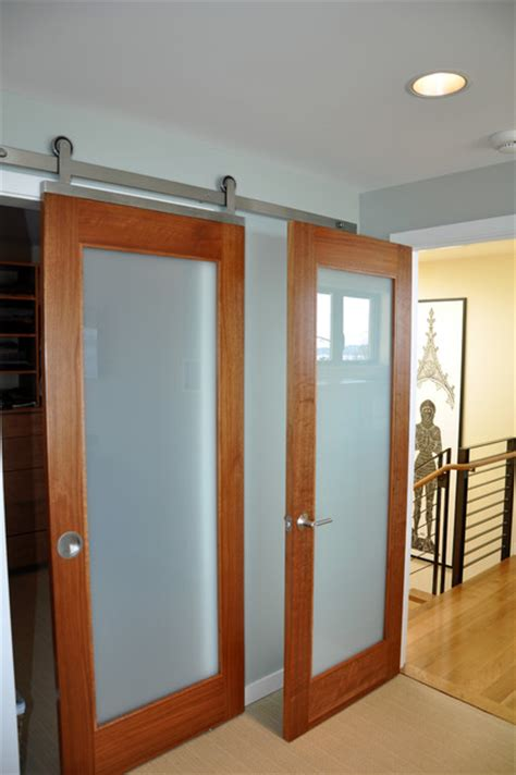 Barn Door   Contemporary   Bedroom   seattle   by Ventana Construction LLC