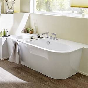 Badewanne Mit Armatur : steinkamp living freistehende eck badewanne 180 x 80 cm rechts st010er megabad ~ Markanthonyermac.com Haus und Dekorationen