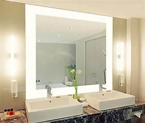 Spiegel Groß Günstig : badspiegel mit beleuchtung vella m444l4 design spiegel fr badezimmer beleuchtet mit led licht ~ Markanthonyermac.com Haus und Dekorationen