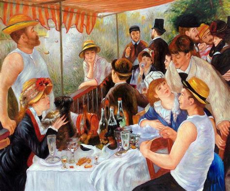 Luncheon Of The Boating Party Npr by Renoir Luncheon Of The Boating Party Reproduction