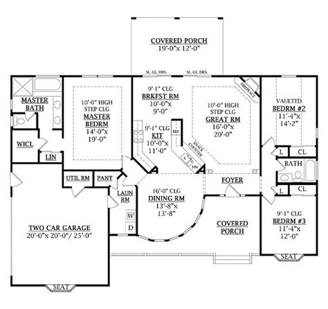 country style house plan 3 beds 2 baths 1800 sq ft plan 456 1