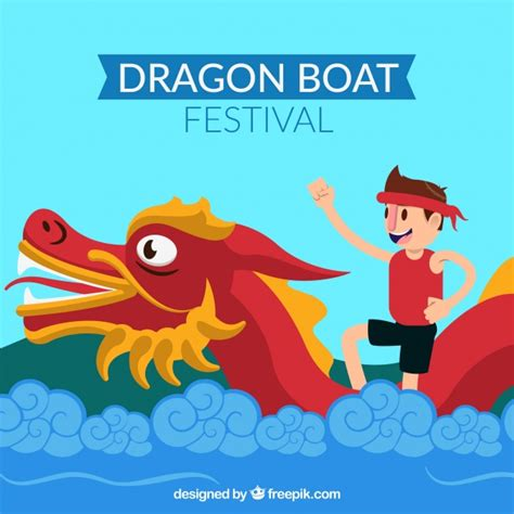 Dragon Boat Festival 2018 Images by Dragon Boat Festival Background Vector Free Download