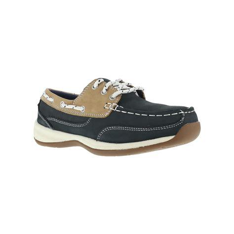 Women S Blue Boat Shoes by Rockport Women S Navy Blue Boat Shoe Steel Toe Rk670