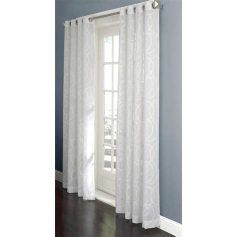 sheer curtains with patterns sheer alan and roth