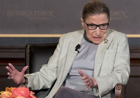 Justice Ginsburg Hospitalized After Falling At Supreme