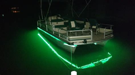 Light The Night Led Boat Lights by Anyone Added Led Lights For Night Fishing Bass Fishing