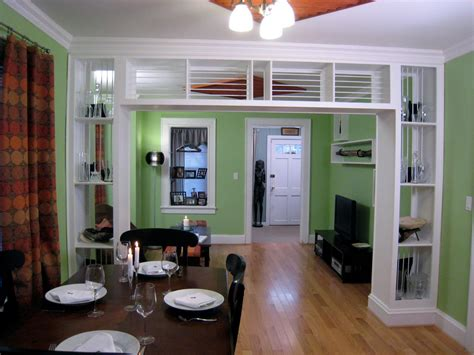 Built-in Bookcase And Room Divider