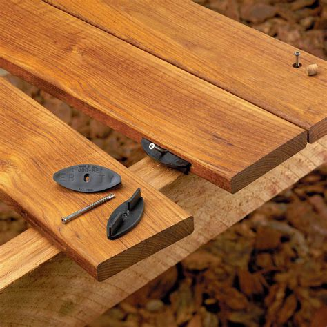 eb ty deck fastening system hardware fasteners wood