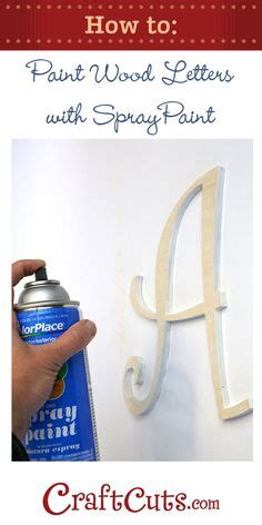 spray paint wood on wood board crafts wooden
