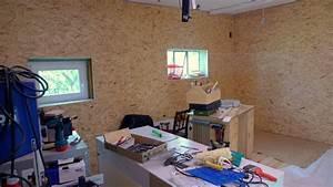 Osb Platten Verkleiden : werkstattumbau neue w nde neues aus der werkstatt ~ Markanthonyermac.com Haus und Dekorationen
