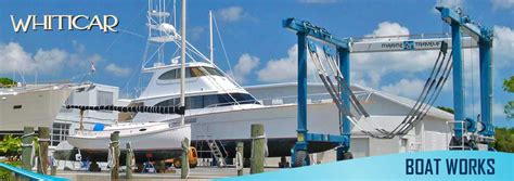 Boat R Fort Pierce by Boat Services In The Treasure Coast Whiticar Boat Works