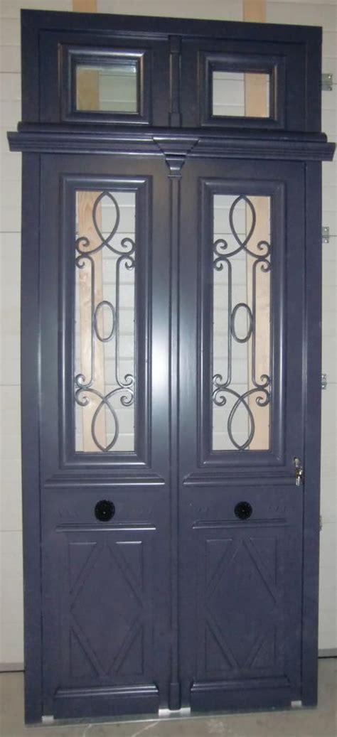 portes anciennes vantaux avec tierce et imposte