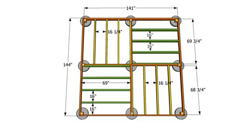 12x12 shed floor plans square gazebo plans for the