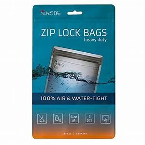Zip Beutel Kaufen : noaks bag m 5 x schutzh lle zip beutel packsack 100 wasserdicht geruchsdicht ~ Markanthonyermac.com Haus und Dekorationen