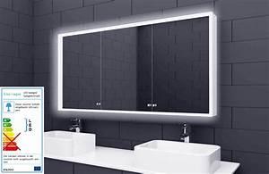 Led Beleuchtung Badezimmer : alu badschrank badezimmer spiegelschrank bad led beleuchtung 140x70cm sac140h70 ebay ~ Markanthonyermac.com Haus und Dekorationen