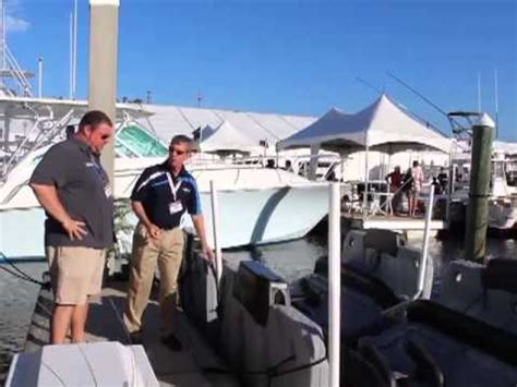 Sunstream Boat Lift Youtube by 2012 Ft Lauderdale International Boat Show Sunstream