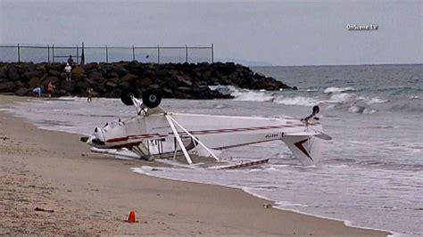 Boat Crash Good Morning America by Single Engine Plane Crashes On California Beach Video