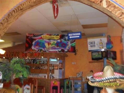 inside restaurant picture of el patio mexican grill bristol tripadvisor