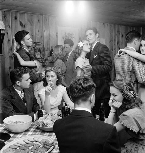 Teenagers At A Party In 1947 In Tulsa, Oklahoma Thewaywewere