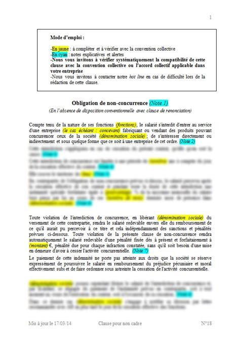 modles de contrats de travail cdi cdd avec clauses pour cadres et non cadres