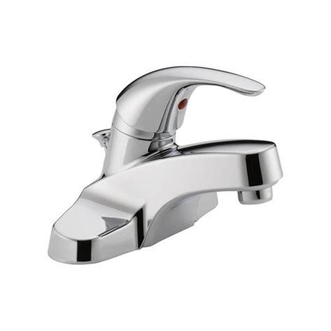 Peerless Bathroom Faucet Walmart by Peerless Single Handle Bath Faucet Chrome Walmart