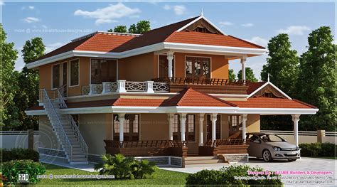 2466 Sqft Beautiful Kerala House Design  Home Kerala Plans
