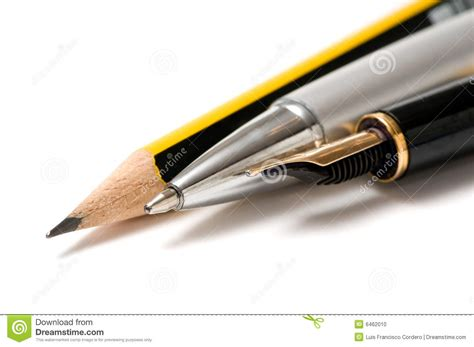 Writing Tools Stock Photo  Image 6462010