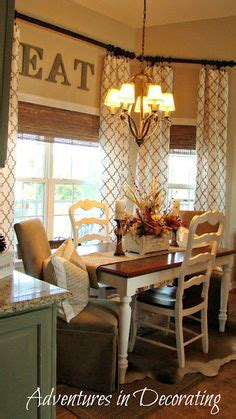 1000 ideas about dining room curtains on curtain ideas dining rooms and curtains