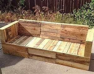 Outdoor Sofa Holz : pallet sofa set for outdoor pallet furniture diy upcycle pinterest paletten ideen ~ Markanthonyermac.com Haus und Dekorationen