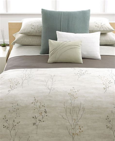 calvin klein home briar bedding collection