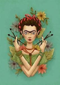 Frida Kahlo Kunstwerk : frida kahlo by me by on deviantart frida pinterest fan art fans ~ Markanthonyermac.com Haus und Dekorationen