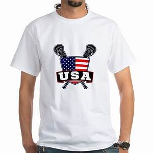 Team USA Lacrosse Logo Men's Classic T-Shirts Team USA ...