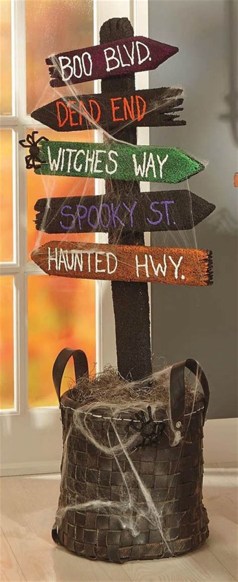 creepy diy decorations for a spooky easyday
