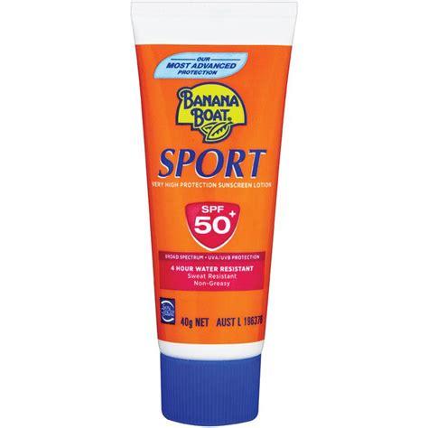 Banana Boat Sunscreen Online by Buy Banana Boat Spf 50 Sport 40g Tube Online At Chemist