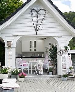 Gartenhaus Shabby Chic : gartenh user die oase im gr nen ~ Markanthonyermac.com Haus und Dekorationen