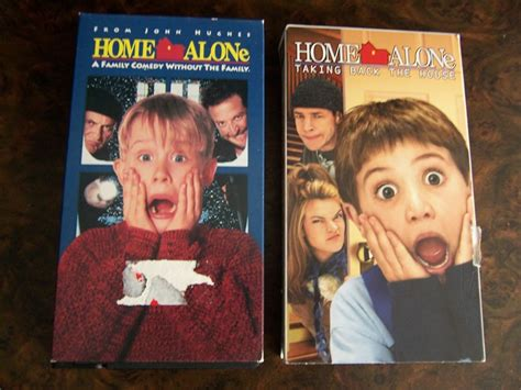 Free Home Alone & Home Alone Taking Back The House On Vhs!  Other Dvds & Movies Listiacom