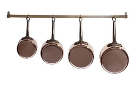how to hang pots pans from the wall home guides sf gate