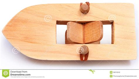 Wooden Toy Paddle Boat Plans by Wooden Rubberband Powered Paddleboat Stock Photography