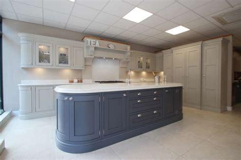 Large Burbidge Langton Painted Ex Display Kitchen