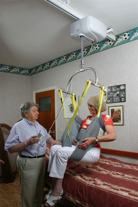rails de plafond handi move