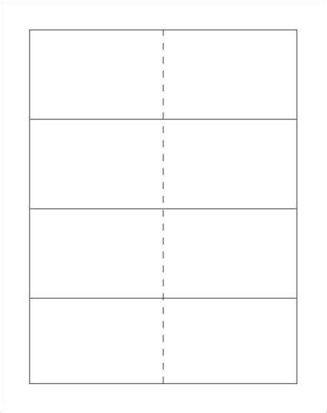 flash card template for word
