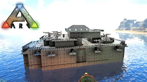 Ark Boat Youtube by Ark Survival Evolved Return To The Island 4 Boat