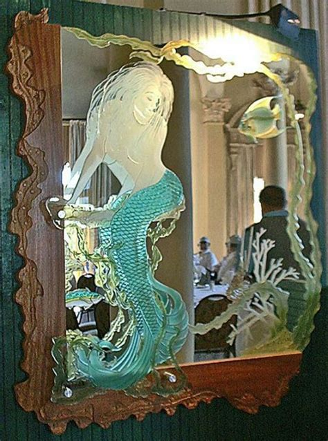 59 best mermaid mirrors combs images on