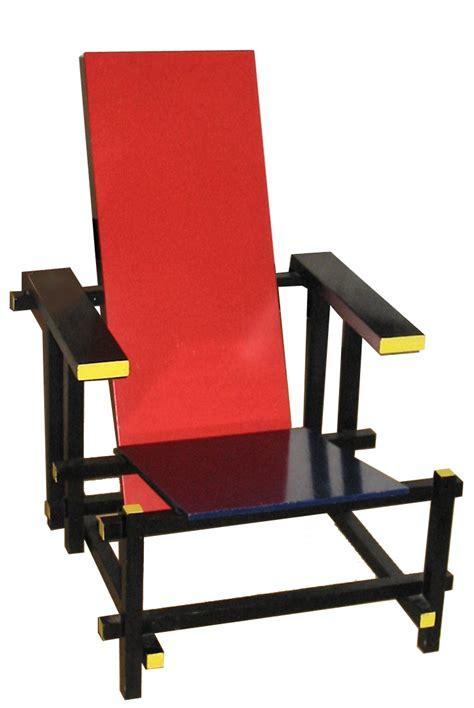 chaise et bleue
