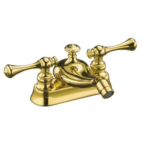kohler revival 2 handle bidet faucet in vibrant polished brass k 16131 4a pb the home depot