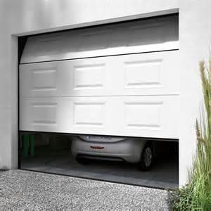 seuil de porte de garage sectionnelle de conception de maison