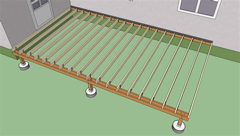deck beam and joist span tables deck design and ideas