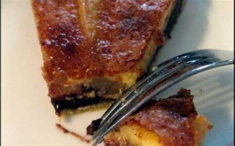 recette tarte poire chocolat 233 conomique et simple gt cuisine 201 tudiant